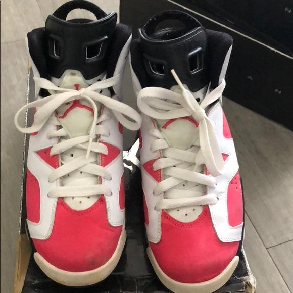 9e5c1df300497 Jordan Shoes - Jordan 6 pink   white black